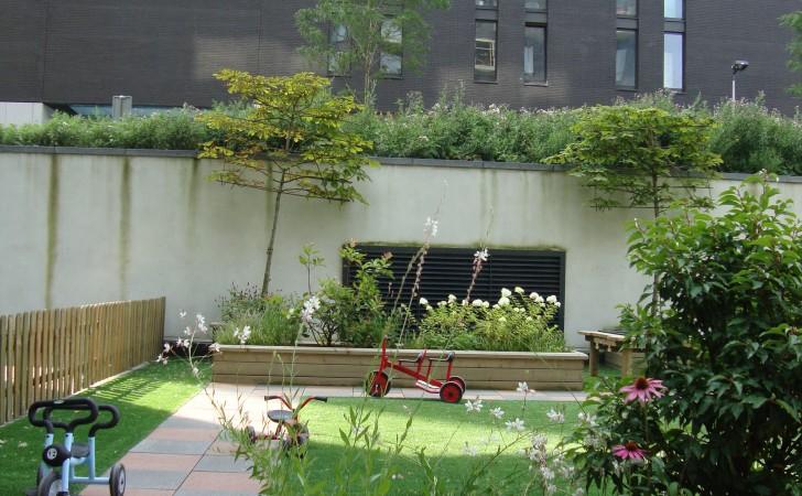 Hoek van de tuin