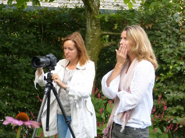 Modeste Herwig fotografeert tuin WiggersDesign